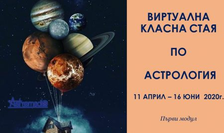 """Ускорен онлайн курс """"Въведение в астрологията"""""""
